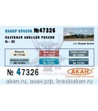 Палубная авиация России: Су-33 (аква)