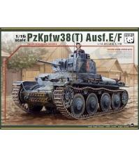 Немецкий (чешский) лёгкий танк Pz.Kpfw.38(t) Ausf.E/F