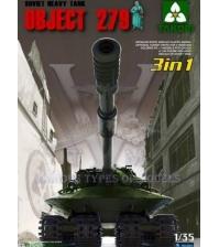 Советский тяжёлый танк Объект 279 (прототип) (3 in 1)